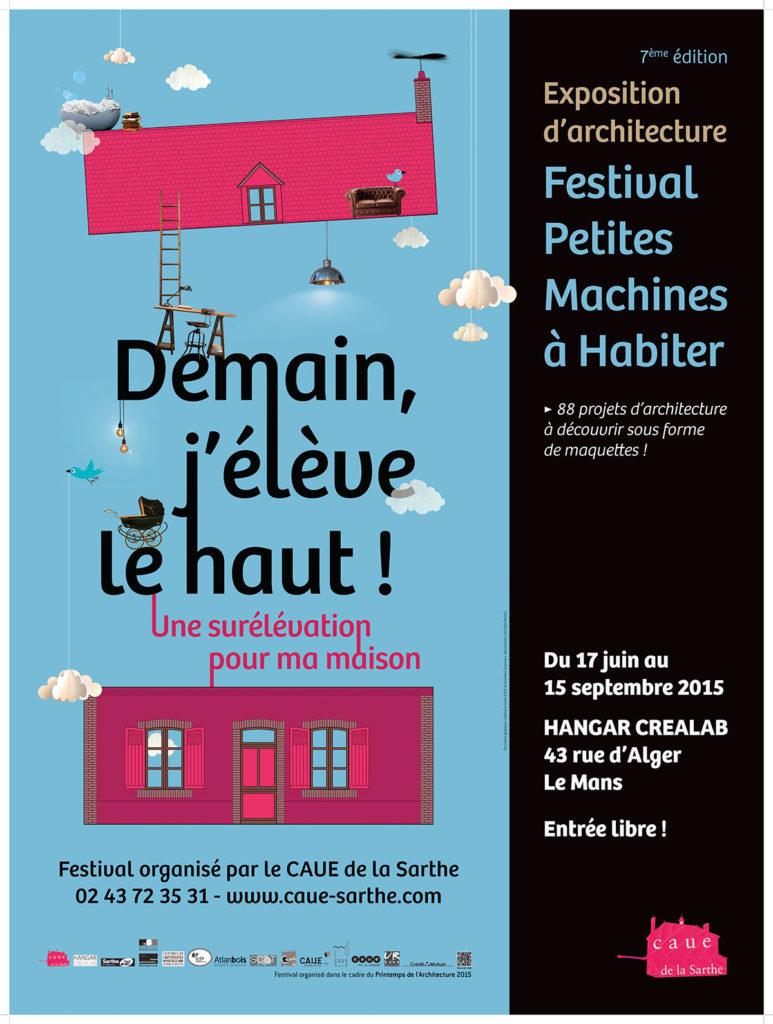 Création et réalisation affiche événement festif Sarthe - La Chouette Graphiste. Graphiste Freelance Le Mans Alençon