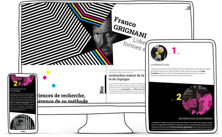 mockup site franco grignani