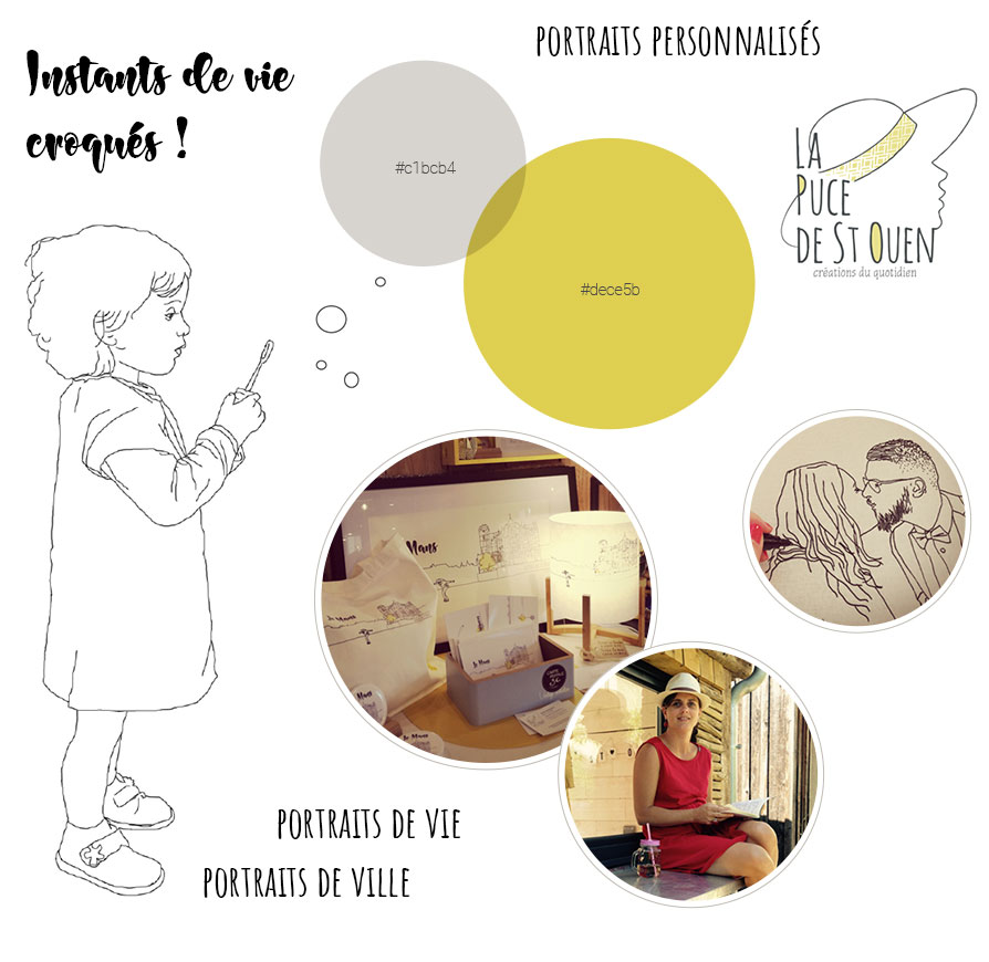 Moodboard. Planche d'humeur