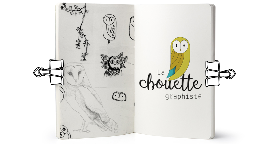 Logo La Chouette Graphiste
