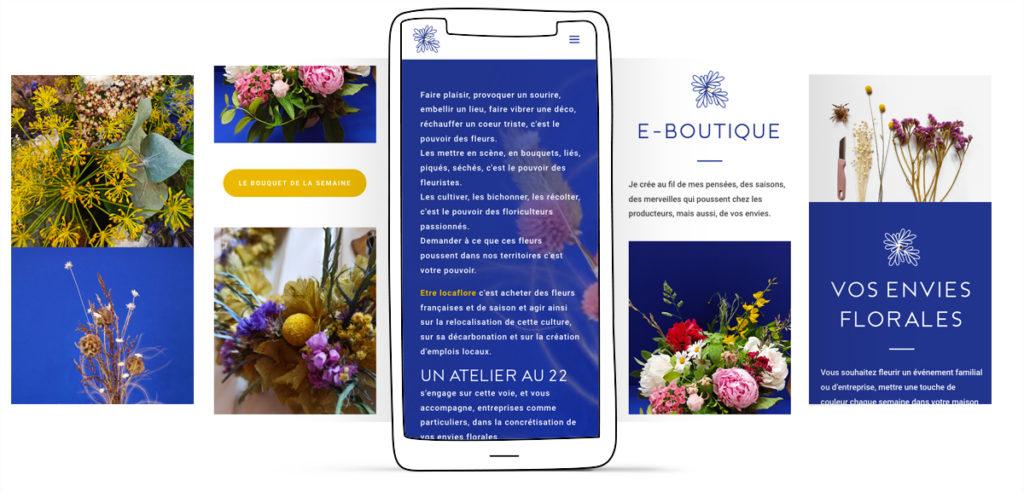 Création site web e-commerce. Graphiste Freelance Sarthe Orne